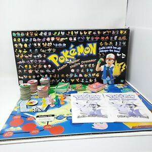 1999 Pokemon Master Trainer Board Game Counted and Complete