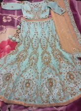 Asian Pakistani Indian bridal dress wedding lehenga valima engagement lengha