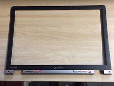 """TOSHIBA QOSMIO G15 AV501 Genuino Envolvente Bisel pantalla LCD 17.1"""" P/N PM0018354"""