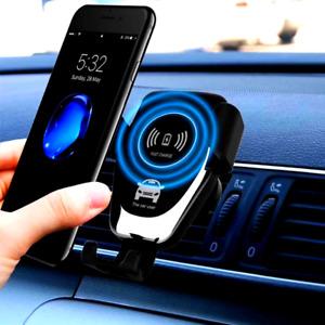 Cargador De Carro Rapido Inalambrico Para Samsung Galaxy S8 + Iphone X 8 Plus