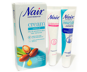 Nair Gentle Upper Lip Face Facial Hair Remover Removal Cream Kit
