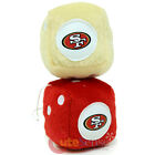 NFL San Francisco 49ers Plush Fuzzy Dice Auto Accessory
