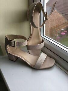 carvela kurt geiger,snake Skin leather Sandals,size 39,worn Once