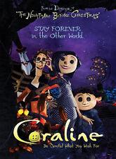 Coraline Movie Art Print poster (32x24inch) Decor 05