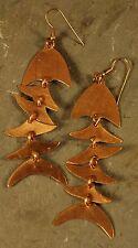 Fair Trade 18k Gold Plated Bombolulu Fish Earrings
