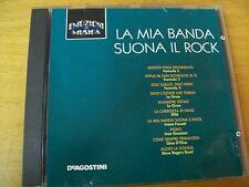 LA MIA BANDA SUONA IL ROCK  CD EMOZIONI IN MUSICA ORME PFM FORMULA 3 FOSSATI