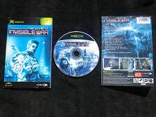 JEU Microsoft XBOX : DEUS EX INVISIBLE WAR (Eidos COMPLET envoi suivi)