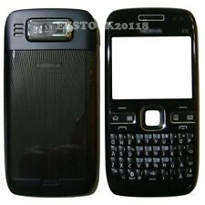Black Fascia Full Housing Case Battery Cover Faceplate Keypad for Nokia E72 +TLs