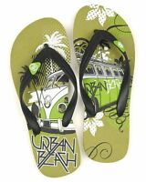 Urban Beach Childs Bug Flip Flops Boys Junior Kids Sandals Shoes Size 13-5 New