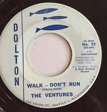 The Ventures, Walk-Don't Run/Home, Dolton #25, 45 Record, 1960