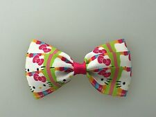 Hello Kitty Hair Bow with Alligator Clip Multi Color