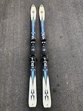 Rossignol Bandit 170CM Blue Skis with Salomon S7 10 Bindings