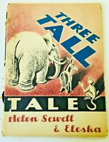 Three Tall Tales Helen Sewell First Edition First Printing RARE! 1947