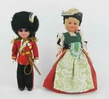 "Vintage Celluloid/Plastic Dolls Great Britain~France Sleepy Eyed (2) 6"" Tall"