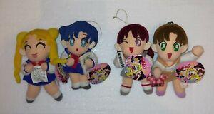 Banpresto Japan  Sailor Moon School ver. 4 set Plush Sailormoon Peluche !