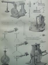 ANTIQUE PRINT C1870'S ELECTRICITY ENGRAVING ILLUSTRATED DIAGRAM SCIENCE PHYSICS