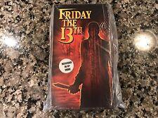 Friday The 13 New Sealed VHS! 1980 Tom Savini Slasher!