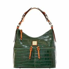 Dooney & Bourke North/South Zipper Sac IVY Croco Leather 3C964 New With Tags