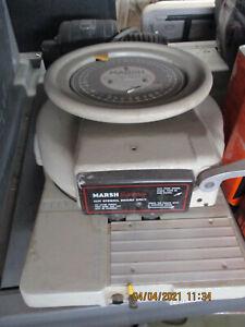 MARSH MODEL E ELECTRIC STENCIL CUTTING MACHINE