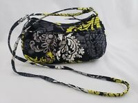 Vera Bradley Retired Baroque Frannie Style Crossbody Purse Shoulder Bag EUC