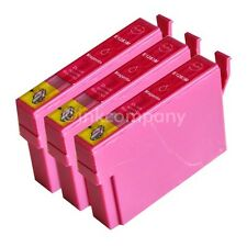 3 kompatible Druckerpatronen magenta für den Drucker Epson SX430W SX125 SX130