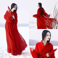Women's Dress Hanfu Clothing Ancient Costume Han Chinese Dress Dance Cosplay