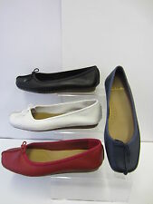 Clarks Ballerinas Casual 100% Leather Upper Shoes for Women