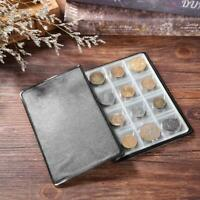 120 Pockets PVC Coins Holder Collection Storage Money Penny Album Book Binder #1