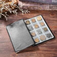 120 Pockets PVC Coins Holder Collection Storage Money Penny Album Book Binder #1