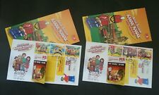 Malaysia Children's Holiday Activity Legoland 2017 Lego Toy (booklet FDC) *rare