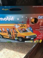 PLAYMOBIL School Bus Vehicle Playset School Bus (New) New!
