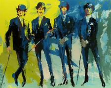 "Leroy Neiman      ""The Beatles""   MAKE  OFFER"