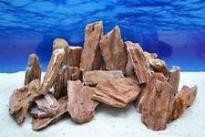 Artículos de decoración de color principal rojo de piedra para acuarios