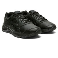 Asics Boys Contend 5 SL GS Running Shoes Trainers Sneakers - Black Sports