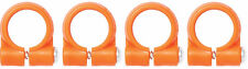 """Pack of (4) 1/4"""" Element Clamps Loc-Line® USA Original Modular System #41477"""