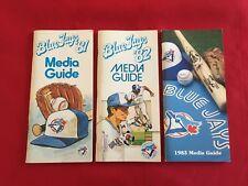 1980-2018 MLB Toronto Blue Jays media guide / You pick 'em / Bell / Carter