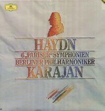 Haydn - 6 de paris symphonie Digital, Herbert de Karajan, Berliner philh.