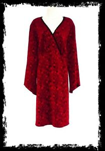 women plus: WHITE STAG Brocade Bell Sleeve Dress - Size 2 X
