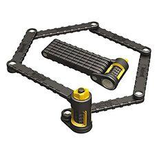Onguard Combination Lock 8115 K9 Heavy Duty Bike Cycle Folding Link Plate 88.5cm