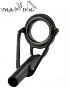 Alps Fishing Rod Tip-Titanium Ring-Black Stainless Steel Frame-Choose Your Size