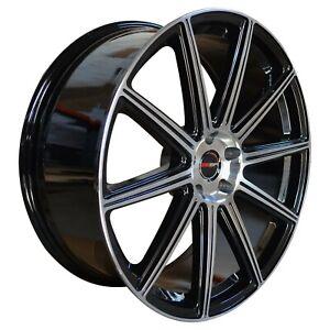4 G42 20 inch Black Rims fits INFINITI EX37 2013
