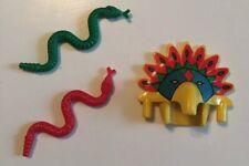Lego ACHU Aztec King HEADDRESS ONLY Adventurers 5986 5976 5906 W Red Green Snake