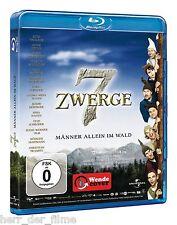 7 ZWERGE, MÄNNER ALLEIN IM WALD (Otto Waalkes) Blu-ray Disc NEU+OVP
