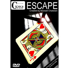 Mickael Chatelain - Escape + DVD - Tour de magie