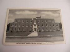 VINTAGE POSTCARD HARNETT COUNTY HOSPITAL ($110.000) BUILDING DUNN NC POSTED 1947