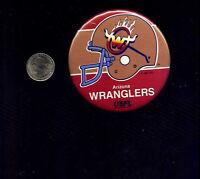 vintage Arizona Wranglers USFL football button pinback badge