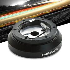 NRG SRK-140H Short Steering Wheel Hub Adapter Black For 95-98 Nissan 200SX