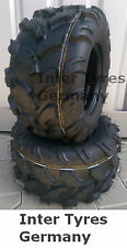 2x 18x9.5-8 P311 18x9.50-8 HAKUBA ATV Quad Geländereifen NEU