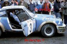 Jean-Pierre Nicolas Porsche 911 Vainqueur Rallye Monte Carlo 1978 Photographie 1