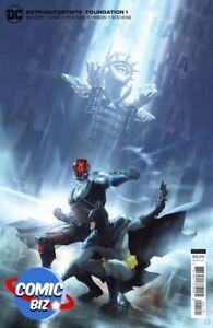 BATMAN FORTNITE FOUNDATION (2021) 1ST PRINT CARDSTOCK VARIANT COVER + GAME CODE
